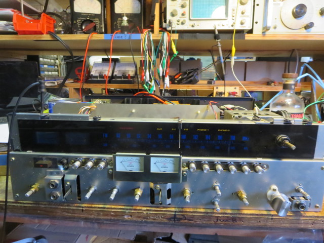 A 9090db being restored on Justin's bench. We do a lot of these.